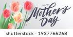 happy mother's day handwritten...   Shutterstock .eps vector #1937766268