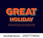vector bright sign great... | Shutterstock .eps vector #1937774032