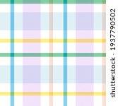 rainbow tartan glen plaid...   Shutterstock .eps vector #1937790502