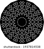 abstract mandala vector with... | Shutterstock .eps vector #1937814538