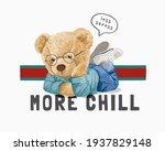 less stress more chill slogan...   Shutterstock .eps vector #1937829148