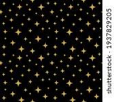 gold twinkling stars seamless... | Shutterstock .eps vector #1937829205