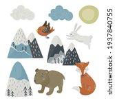 set of scandinavian style... | Shutterstock .eps vector #1937840755