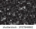 rough  irregular texture... | Shutterstock .eps vector #1937848882