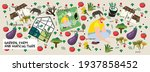 garden  farm and agriculture.... | Shutterstock .eps vector #1937858452