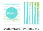 modern background. save date... | Shutterstock .eps vector #1937862412