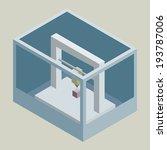 vector isometric 3d printer