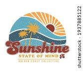 sunshine state of mind. golden...   Shutterstock .eps vector #1937885122
