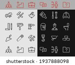 set of construction icons ... | Shutterstock .eps vector #1937888098