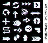 arrows and pointers set with... | Shutterstock .eps vector #1937912125