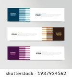 vector abstract banner design... | Shutterstock .eps vector #1937934562