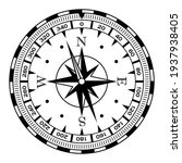 rose of winds and compass | Shutterstock .eps vector #1937938405