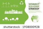 sustainability development... | Shutterstock .eps vector #1938000928
