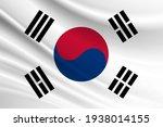 Flag Of South Korea Fabric...