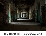 Abandoned Creepy Corridor In...