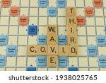Covid Third Wave On A Scrabble...