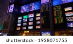 Sports Betting Board At The New ...