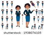 african business woman... | Shutterstock .eps vector #1938076105