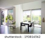 modern dining room interior... | Shutterstock . vector #193816562