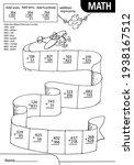 math learning game for kids.... | Shutterstock .eps vector #1938167512