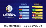 south america football 2021... | Shutterstock .eps vector #1938190705