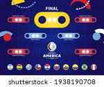south america football 2021... | Shutterstock .eps vector #1938190708