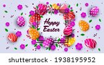 happy easter holiday...   Shutterstock .eps vector #1938195952