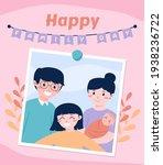 creative illustration for happy ... | Shutterstock .eps vector #1938236722
