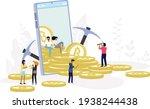 bitcoin blockchain... | Shutterstock .eps vector #1938244438