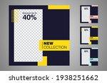 new set of editable minimal... | Shutterstock .eps vector #1938251662