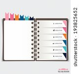 modern design template of... | Shutterstock .eps vector #193825652