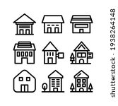 lodging icon or logo isolated...   Shutterstock .eps vector #1938264148