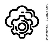 cloud services icon or logo...
