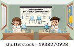 young scientist explaining... | Shutterstock .eps vector #1938270928