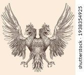 Two Headed Eagle With...