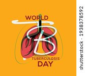 world tuberculosis day poster...   Shutterstock .eps vector #1938378592