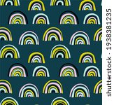 vector seamless pattern with... | Shutterstock .eps vector #1938381235