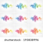 Vector Abstract Multicolored...