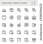 simple interface icons related...   Shutterstock .eps vector #1938396625
