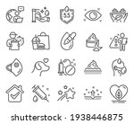 healthcare icons set. included...   Shutterstock .eps vector #1938446875