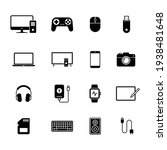 Electronic Devices Icons  Set...