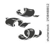 chocolate shaving glyph icon.... | Shutterstock .eps vector #1938488812