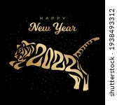 happy new year 2022. the year... | Shutterstock .eps vector #1938493312
