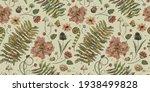 Vintage Botanical Pattern....