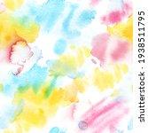 neon rainbow  seamless pattern ...   Shutterstock . vector #1938511795