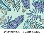 linear tropical background ...   Shutterstock .eps vector #1938563302