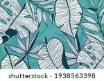 linear tropical background ...   Shutterstock .eps vector #1938563398
