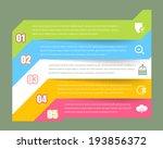 vector infographics template... | Shutterstock .eps vector #193856372