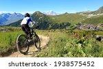 Mountain Bike In The Alps
