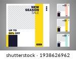 new set of editable minimal... | Shutterstock .eps vector #1938626962